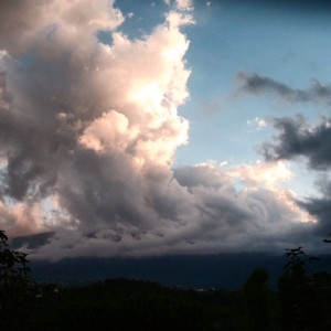Clouds, Folignano, Marches, Italy, October 2015