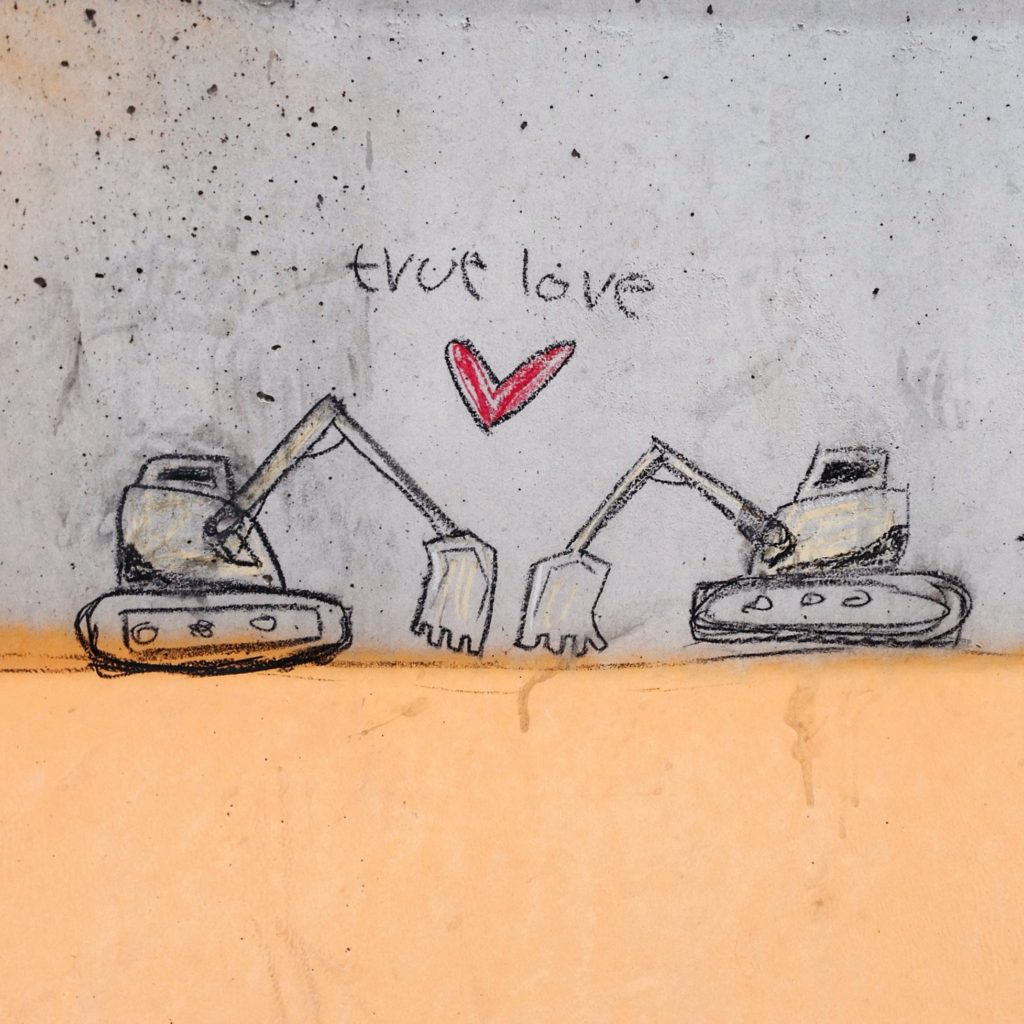 True love, Florence, Italy, October 2015